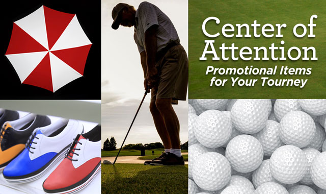 Center of Attention — Promotional Items for Your Tourney