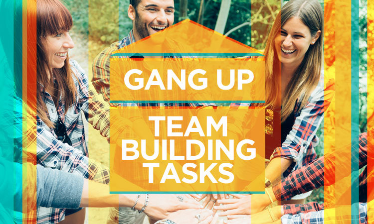 Gang Up — Best Iowa Team Building Tasks