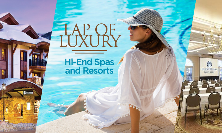 Lap of Luxury — High-end Wisconsin Spas and Resorts