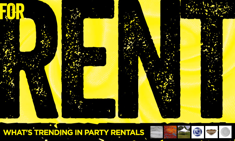 For Rent — What's Trending in Party Rentals