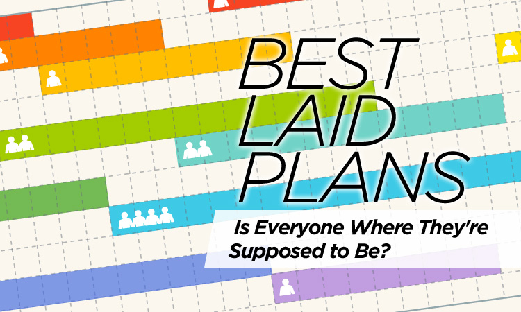 Best Laid Plans — Is Everyone Where They're Supposed to Be?