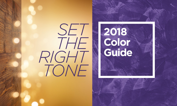 Set the Right Tone — 2018 Color Guide