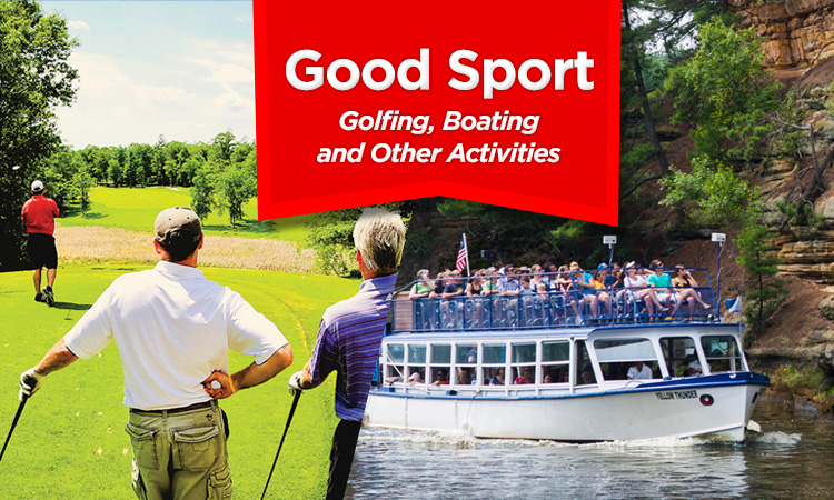 Good Sport — Iowa Golfing, Boating, and Corporate Entertainment Activities
