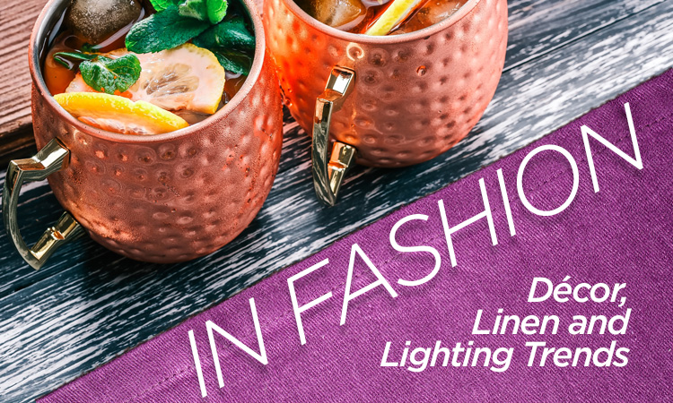 In Fashion — Décor, Linen, and Lighting Trends