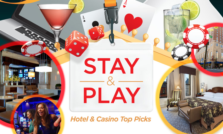Stay & Play — Iowa Hotel and Casino Top Picks