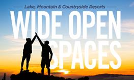 Wide Open Spaces – Wisconsin Lake, Mountain, and Countryside Resorts