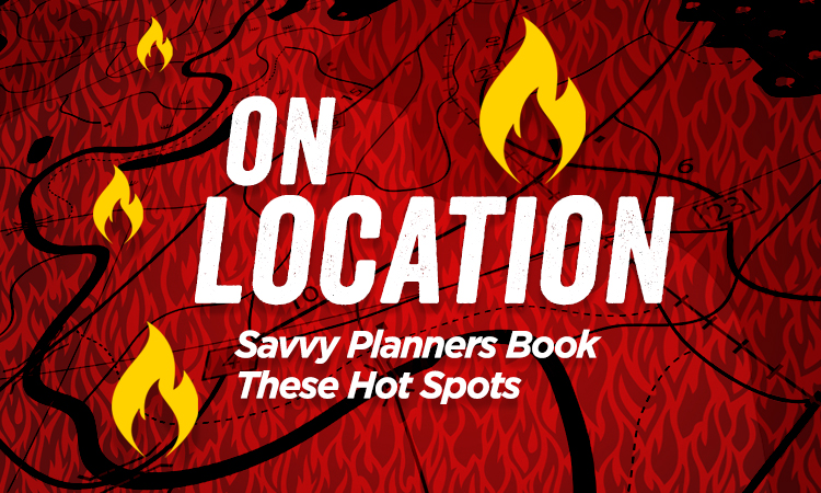 On Location — Savvy Planners Book These Iowa Hot Spots