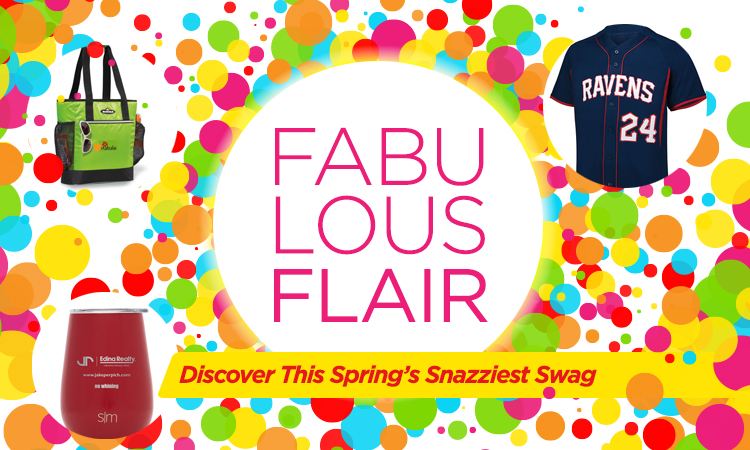 Fabulous Flair - Discover This Spring's Snazziest Swag