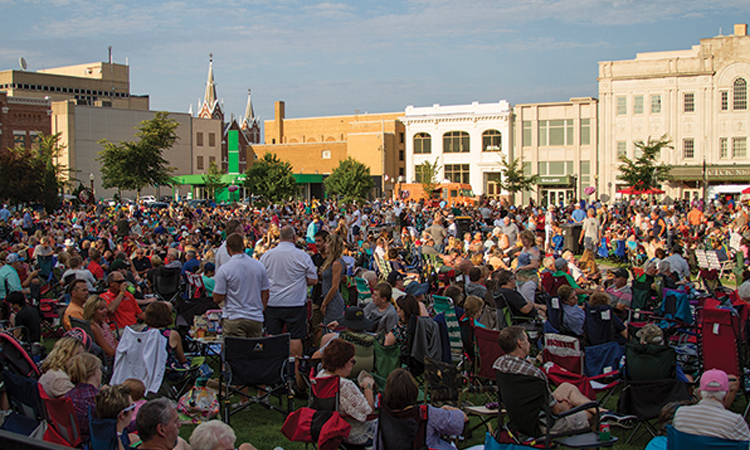 Concert in Square, Wausau, Wisconsin