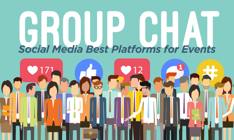 Group Chat — Social Media Best Platforms for Events