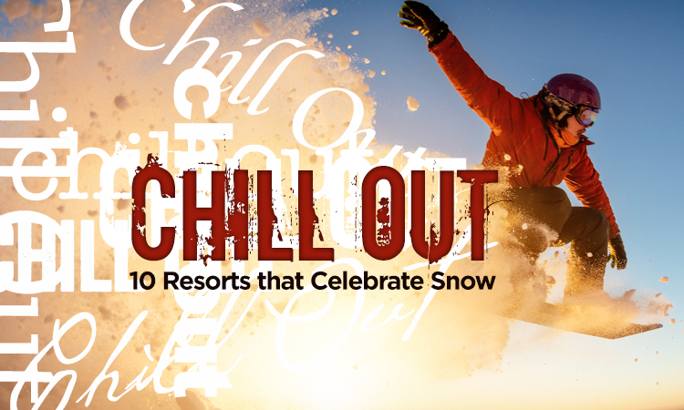 Chillout — 5 Iowa Resorts That Celebrate Snow