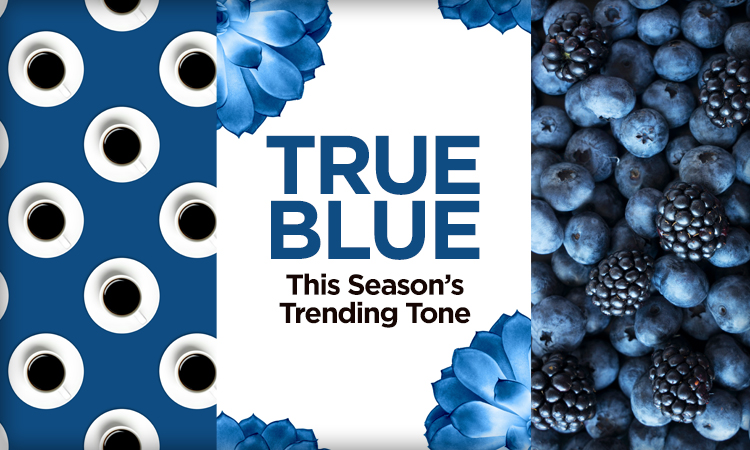 True Blue — This Season's Trending Tone