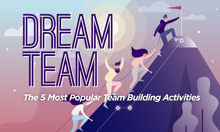 Dream Team — The 5 Most Popular Team Building Activities