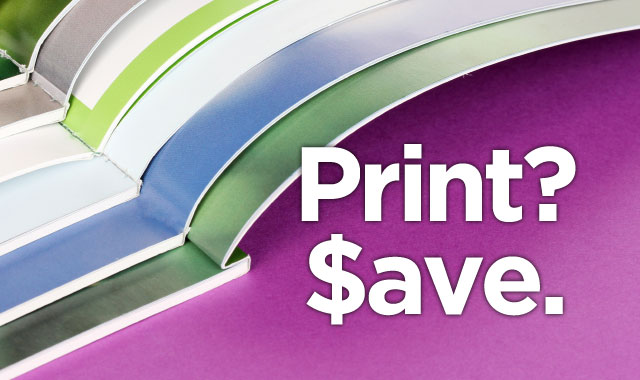 Money-saving tips for getting effective event print materials