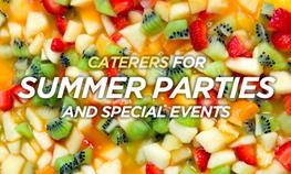 Wisconsin Caterers for Summer Parties and Special Events