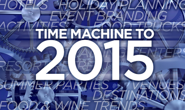 Time Machine to 2015 — Sneak peek at the year to come