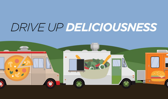 Drive Up Deliciousness — New and Creative Ways to Add Food Trucks to Your Event