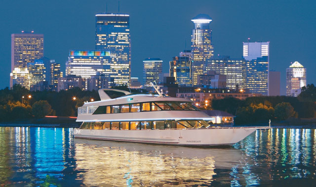 Paradise Charter Cruises — Minneapolis Queen, Minneapolis, Minnesota