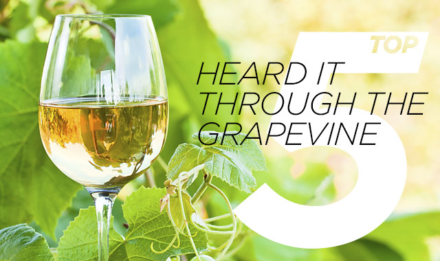Heard it Through the Grapevine — The Top Wines Being Served This Summer