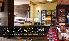 Get a Room — Boutique, Historic and Unusual Minnesota Hotels