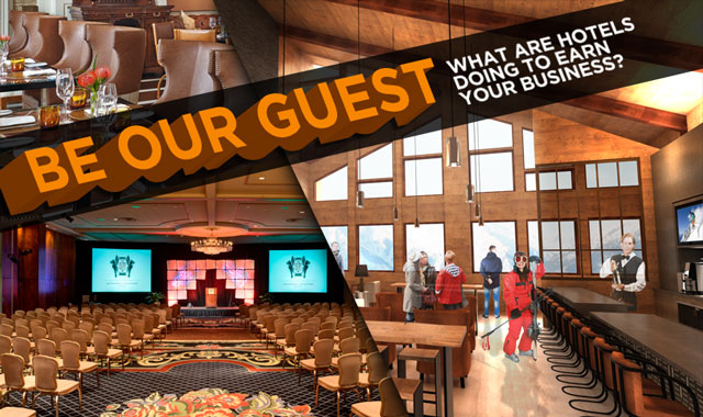 Be Our Guest — What are Hotels Doing to Earn Your Business?