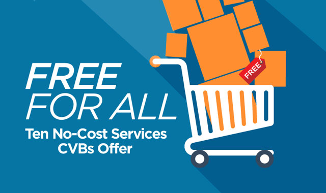 Free for All — Ten No-Cost Services CVBs Offer